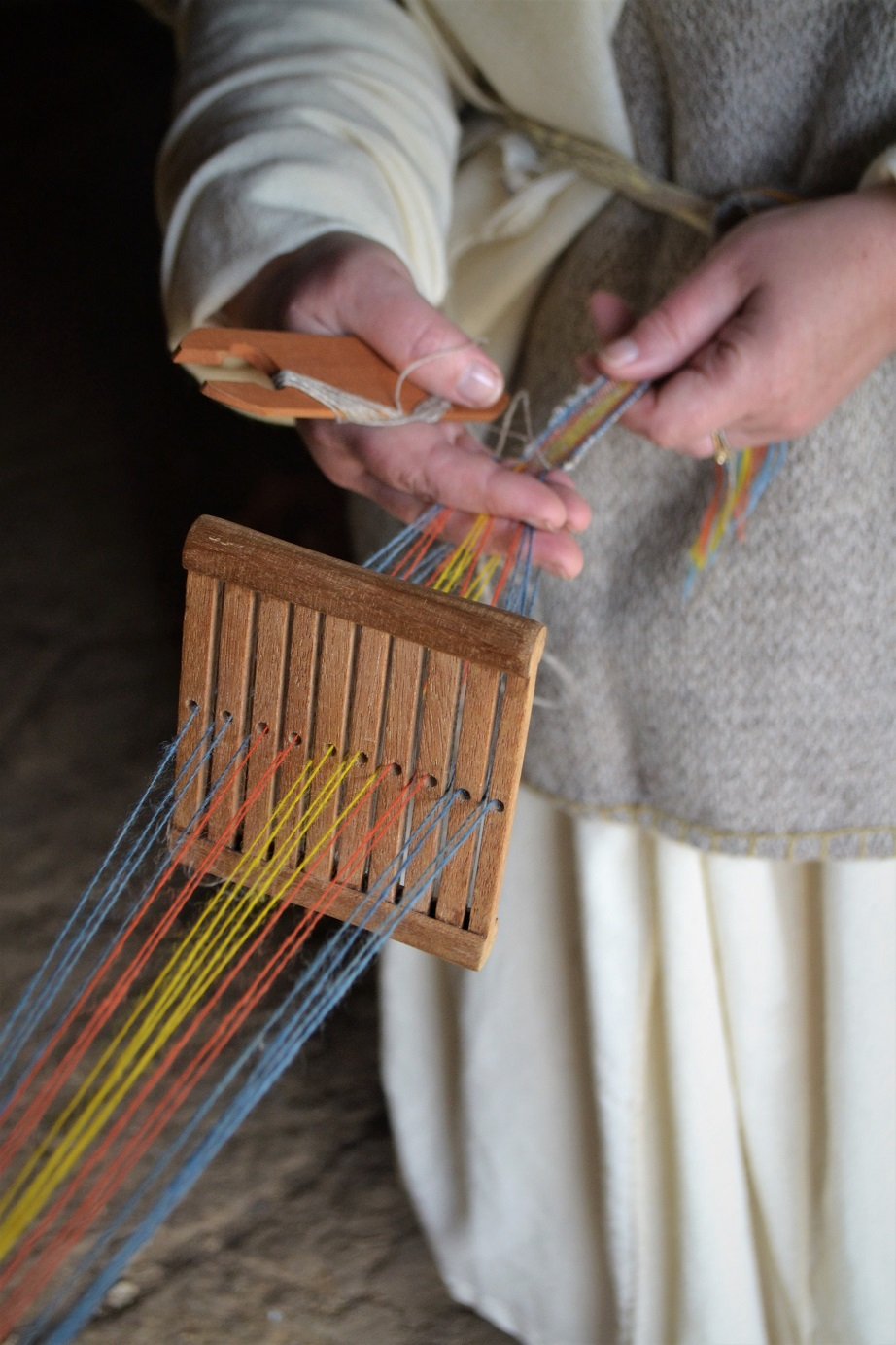 Flax and weaving workshop banner image