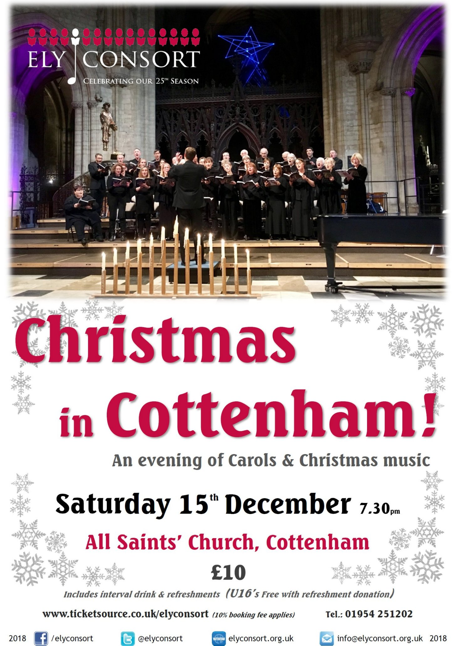 Another Christmas In Cottenham With Ely Consort At All Saints Church Cottenham Cambridge