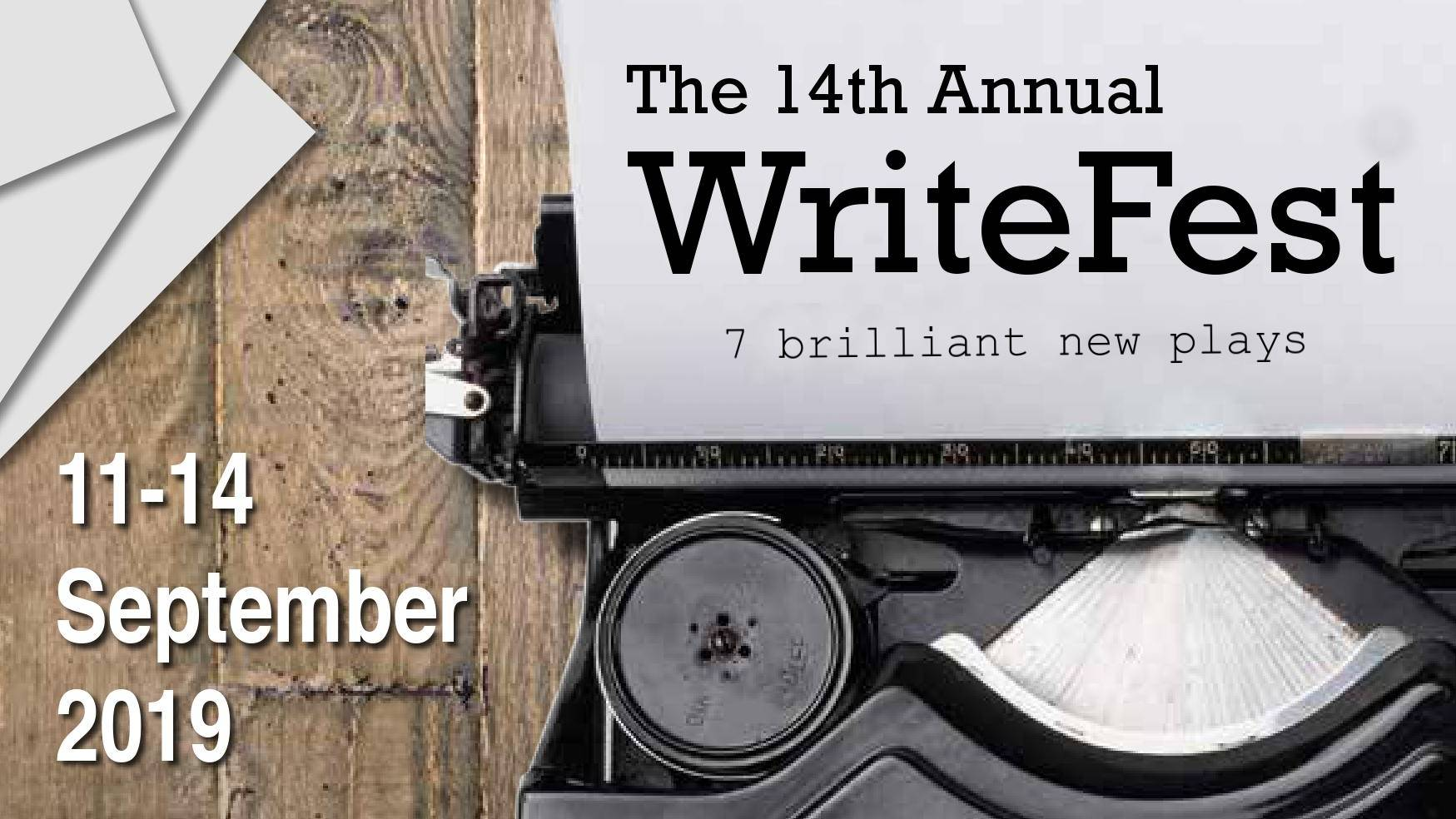 14th Annual WriteFest banner image