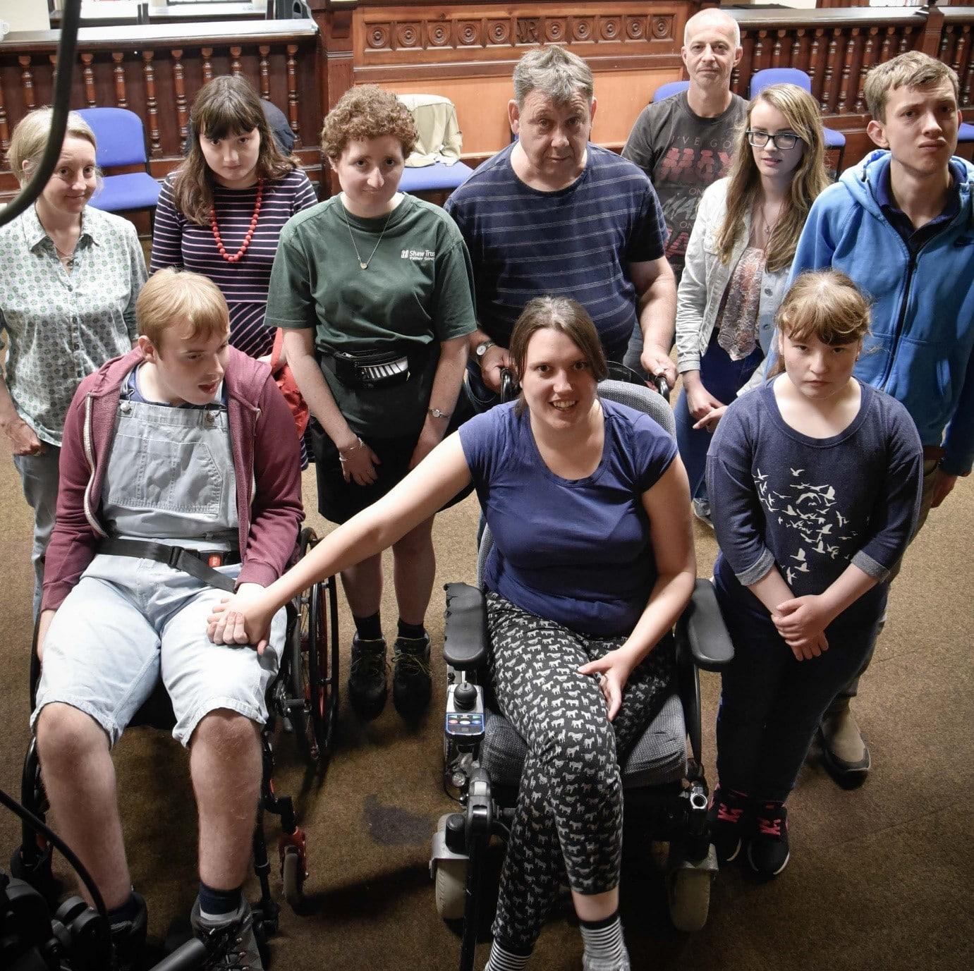 Drama Club for Adults with Learning Disabilities Term 2 banner image