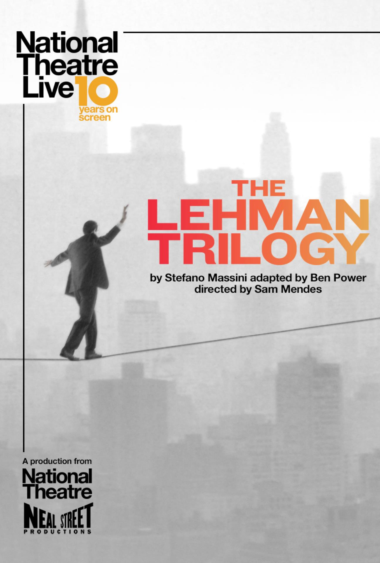 The Lehman Trilogy (National Theatre LIVE) - an artsLIVE Screening banner image