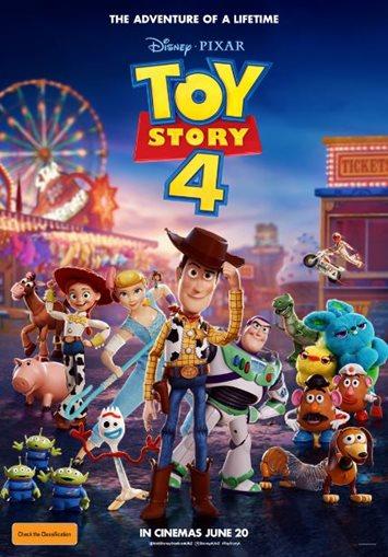 Toy Story 4 (2019)   U   1h 40mins   banner image