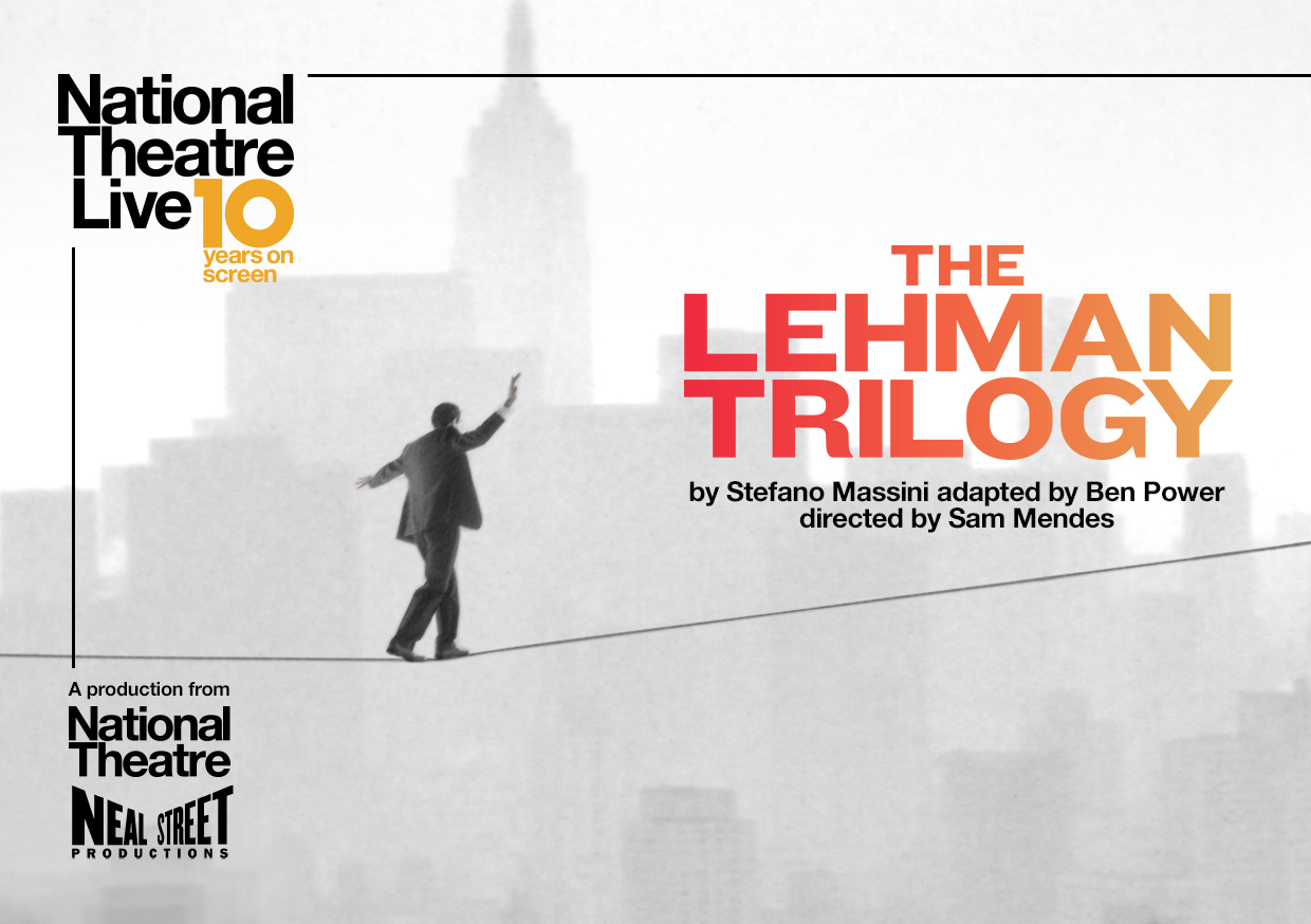 NT Live: The Lehman Trilogy (12A) banner image