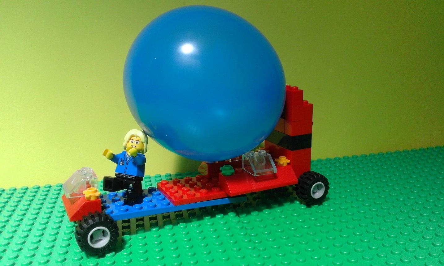 balloon powered car Table 1: materials used to build balloon car material description amount use 1/8 x 3 x 36 balsa plank 1 car body 1/4 x 1/2 x 36 balsa strips 2 balloon stand.
