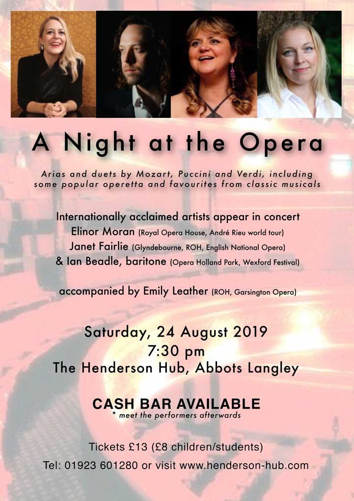 Concert - A NIGHT AT THE OPERA banner image