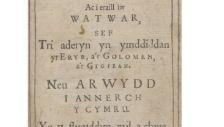 Symposium: Morgan llwyd o wynedd 1619 - 1659