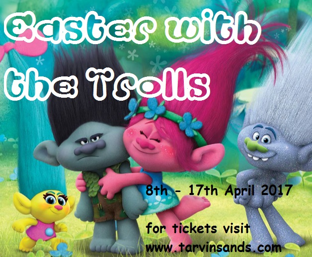 easter with the Trolls