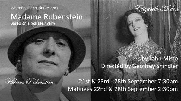 Madam Rubinstein by John Misto.  Is the beauty Business only skin Deep ?  - Or do  conflicts exist.? banner image