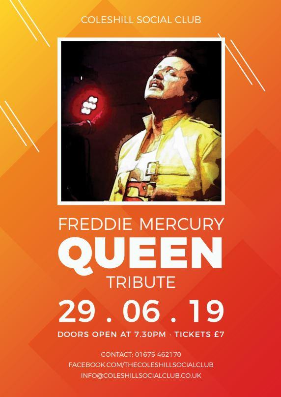 Freddie Mercury-QUEEN banner image