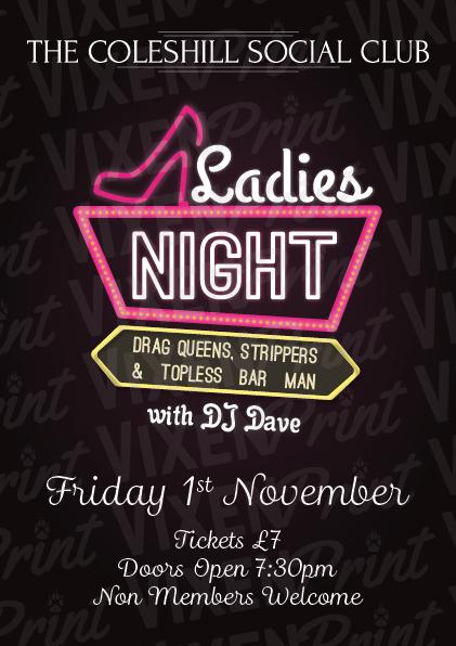 Ladies Night banner image