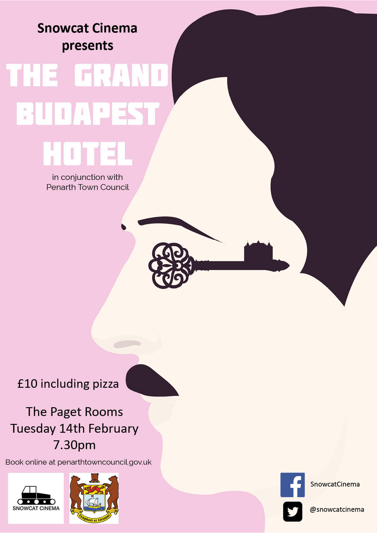 The Paget Rooms Penarth Grand Budapest Hotel