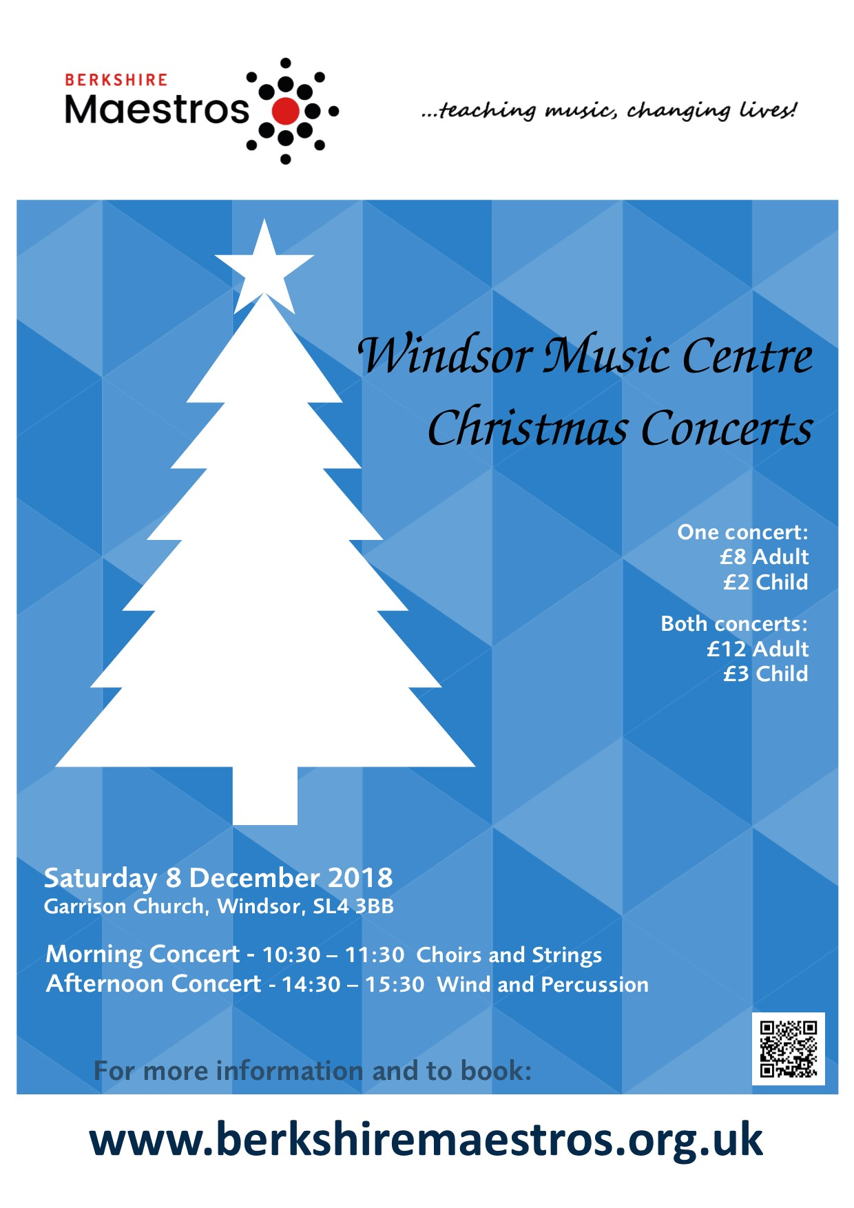 Christmas Concerts.Windsor Music Centre Christmas Concerts 2018 At Holy