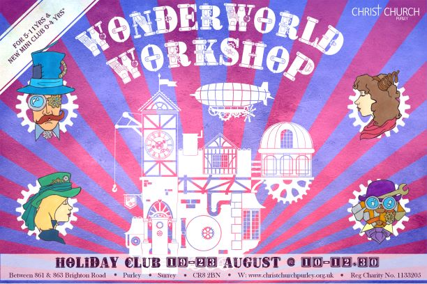 Wonderland Workshop Holiday Club banner image