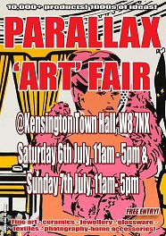 Parallax Art Fair 26th Edition in July 2019 banner image