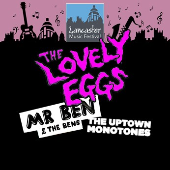 CASTLE - SUNDAY - THE LOVELY EGGS + Mr Ben & The Bens + Uptown Monotones + more banner image