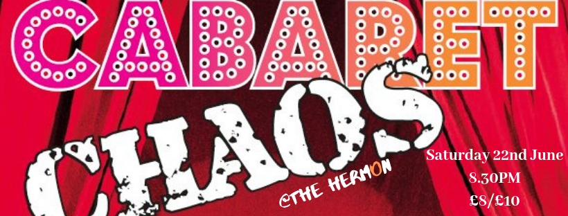 CABARET OF CHAOS with Randolph Tempest & Cafe Lola! banner image