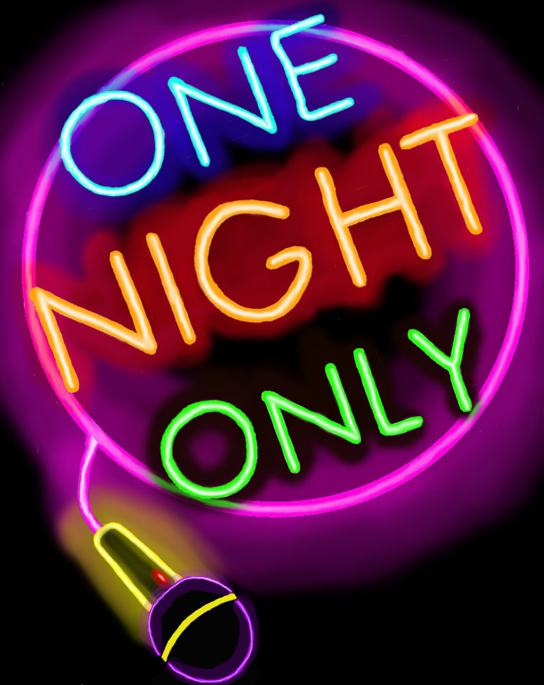 """One Night Only"" banner image"