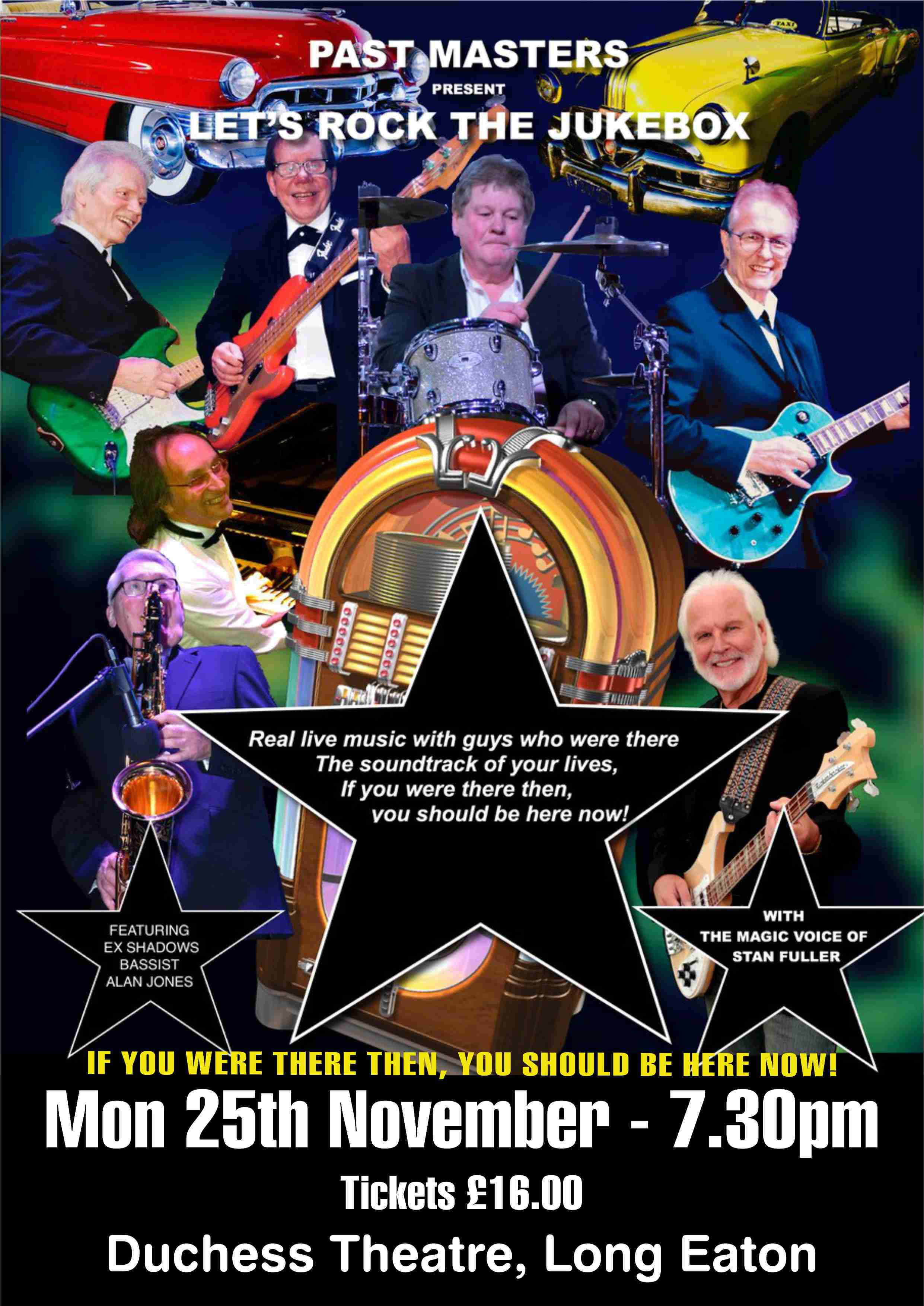 LET'S ROCK THE JUKEBOX - Past Masters banner image