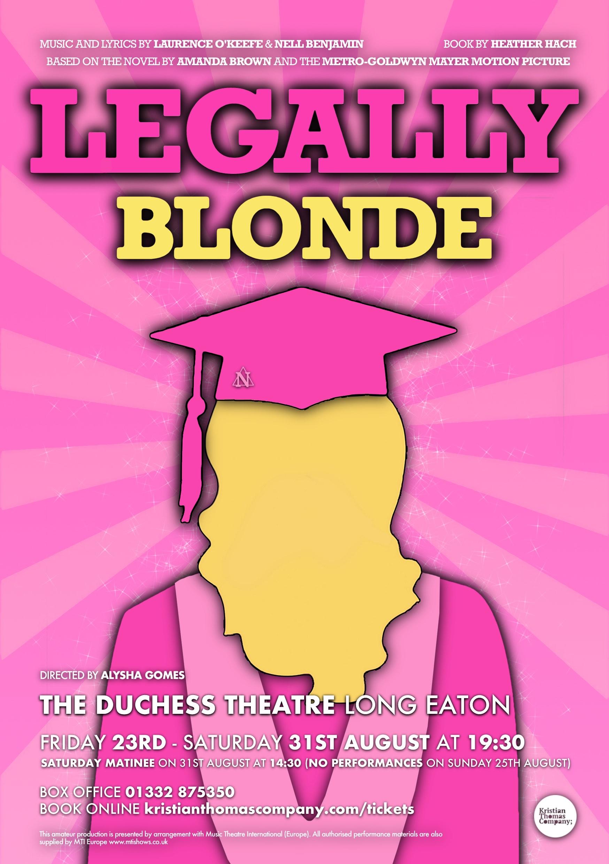 KTCo; Legally Blonde banner image