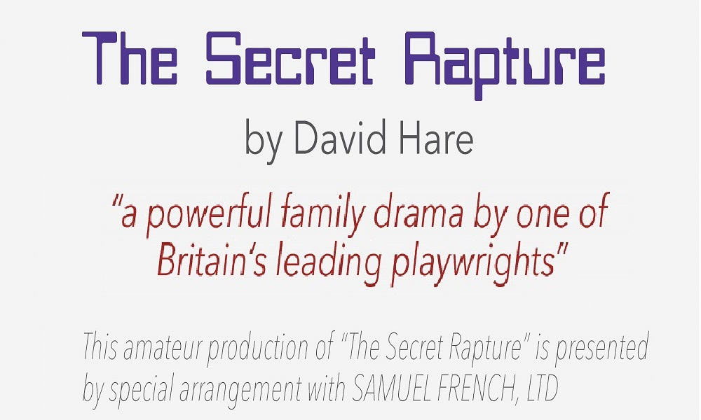 The Secret Rapture banner image