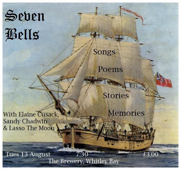 Seven Bells: words & music on a summer's eve banner image