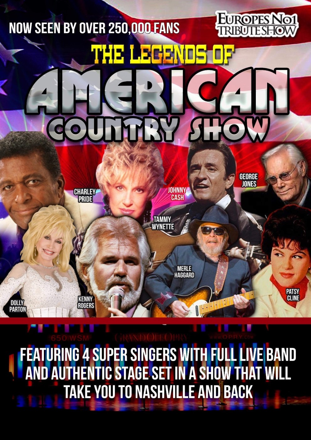 The Legends of American Country at The Webster Memorial