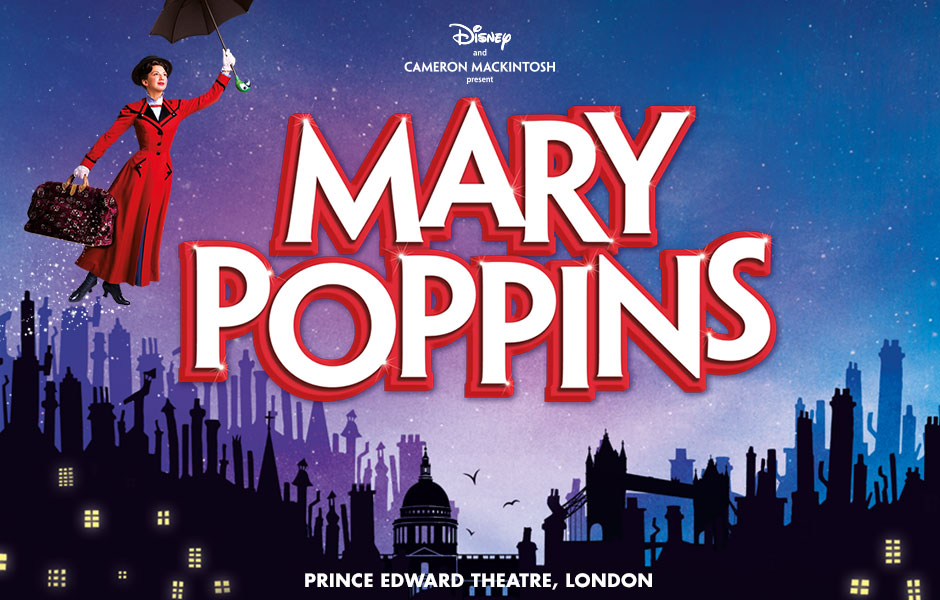T5. MARY POPPINS - Prince Edward Theatre banner image