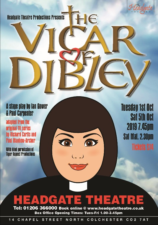Vicar of Dibley by Ian Gower and Paul Carpenter banner image