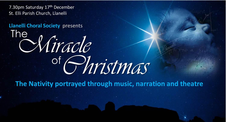 The Miracle Of Christmas.The Miracle Of Christmas At St Elli Parish Church Llanelli