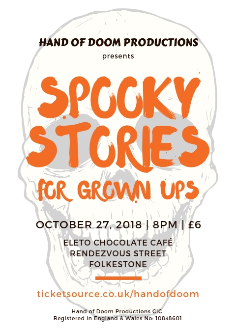 Spooky Stories For Grown Ups At Eleto Chocolate Cafe Event