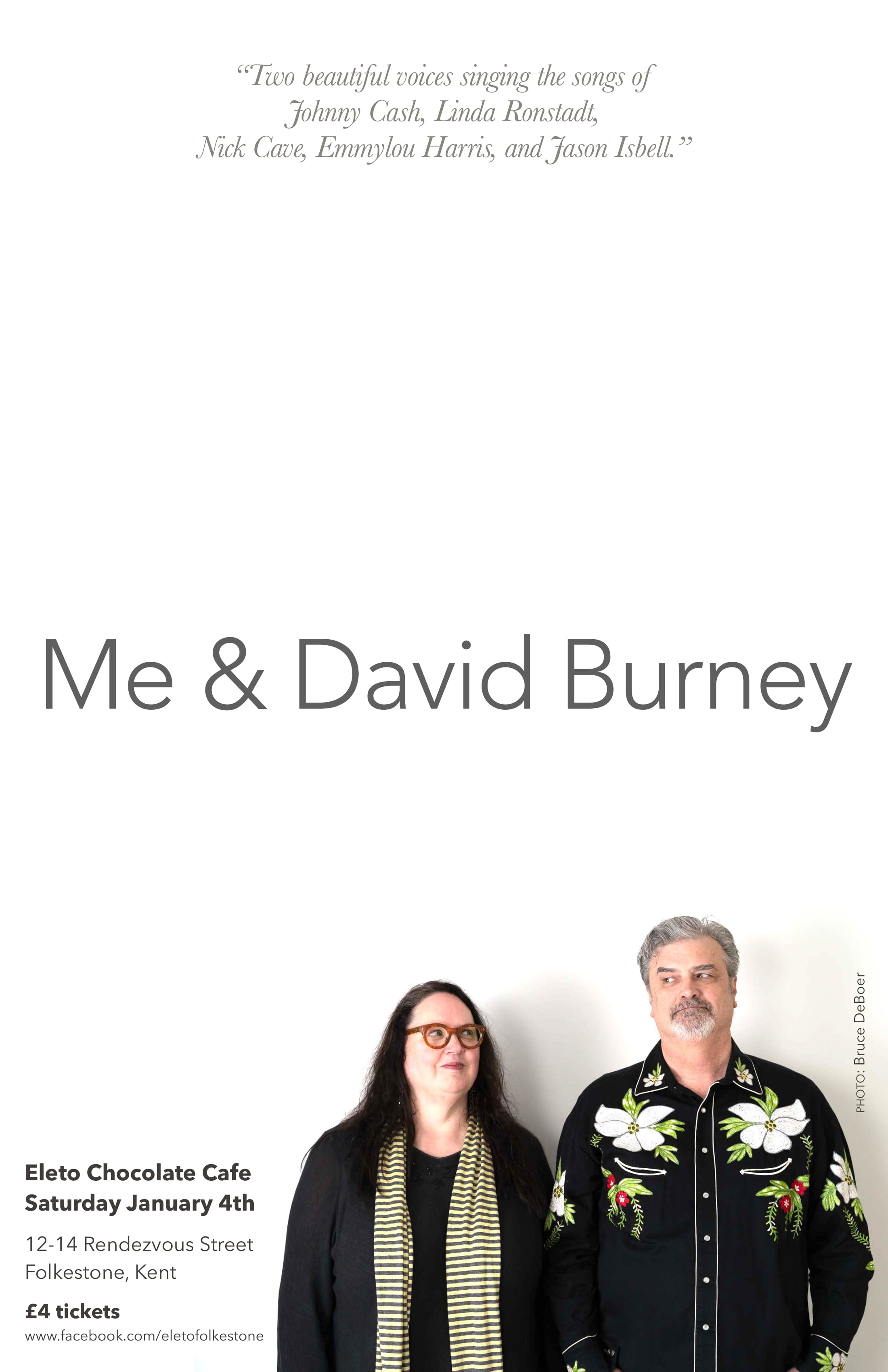 Me David Burney At Eleto Chocolate Cafe Event Tickets From
