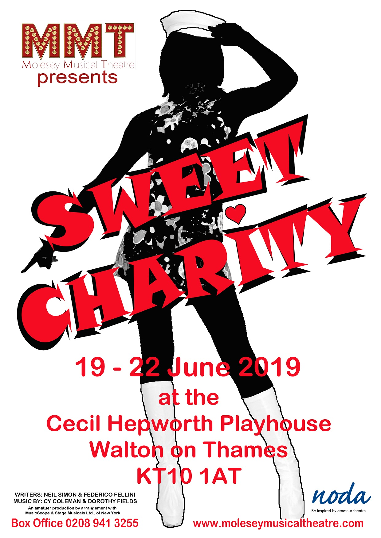 MMT presents 'Sweet Charity' banner image