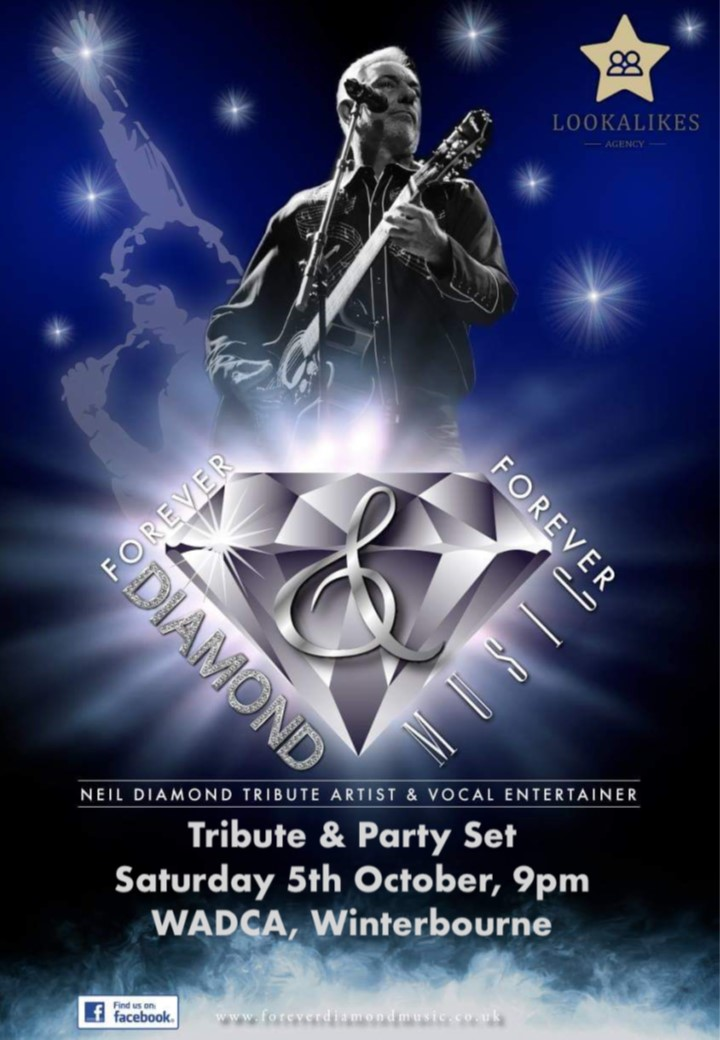 Forever Diamond - Neil Diamond Tribute & Party Night banner image