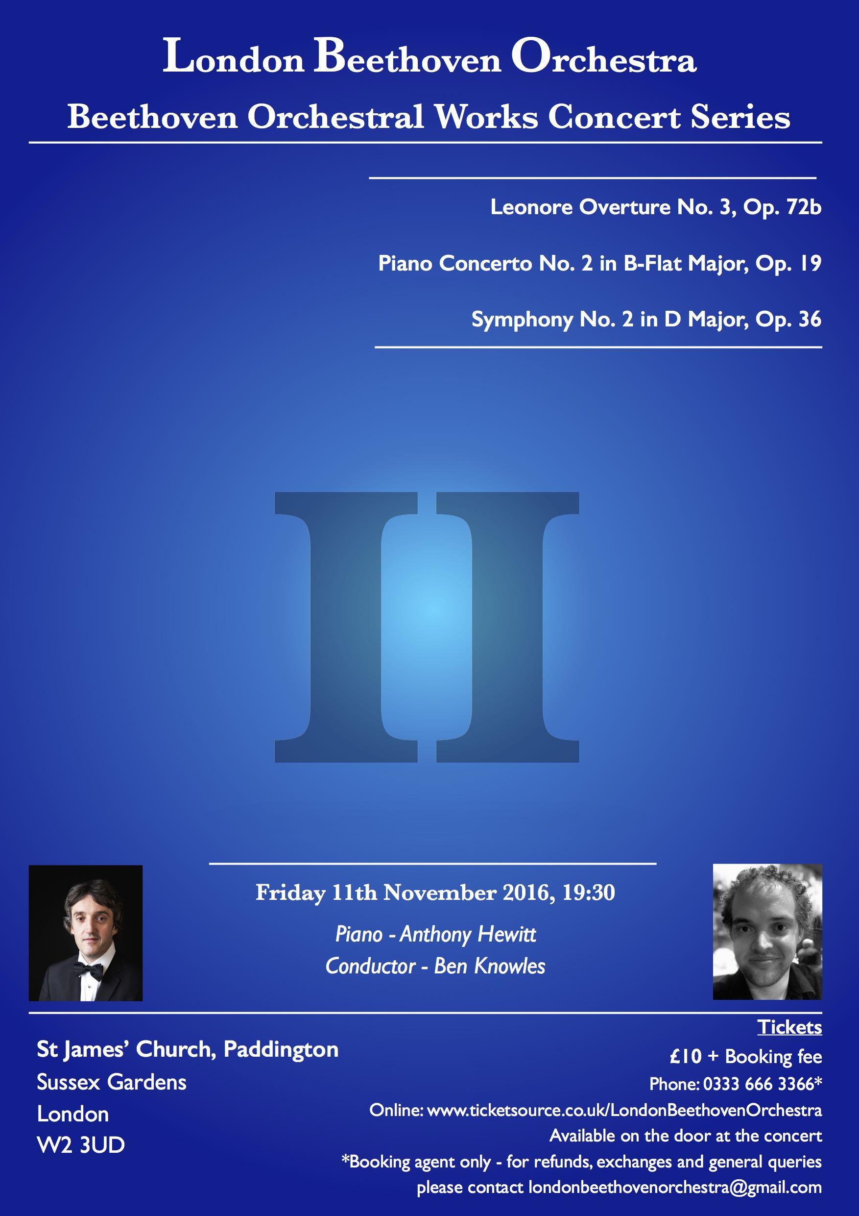 LBO Concert 2 - Leonore Overture 3, Piano Concerto 2