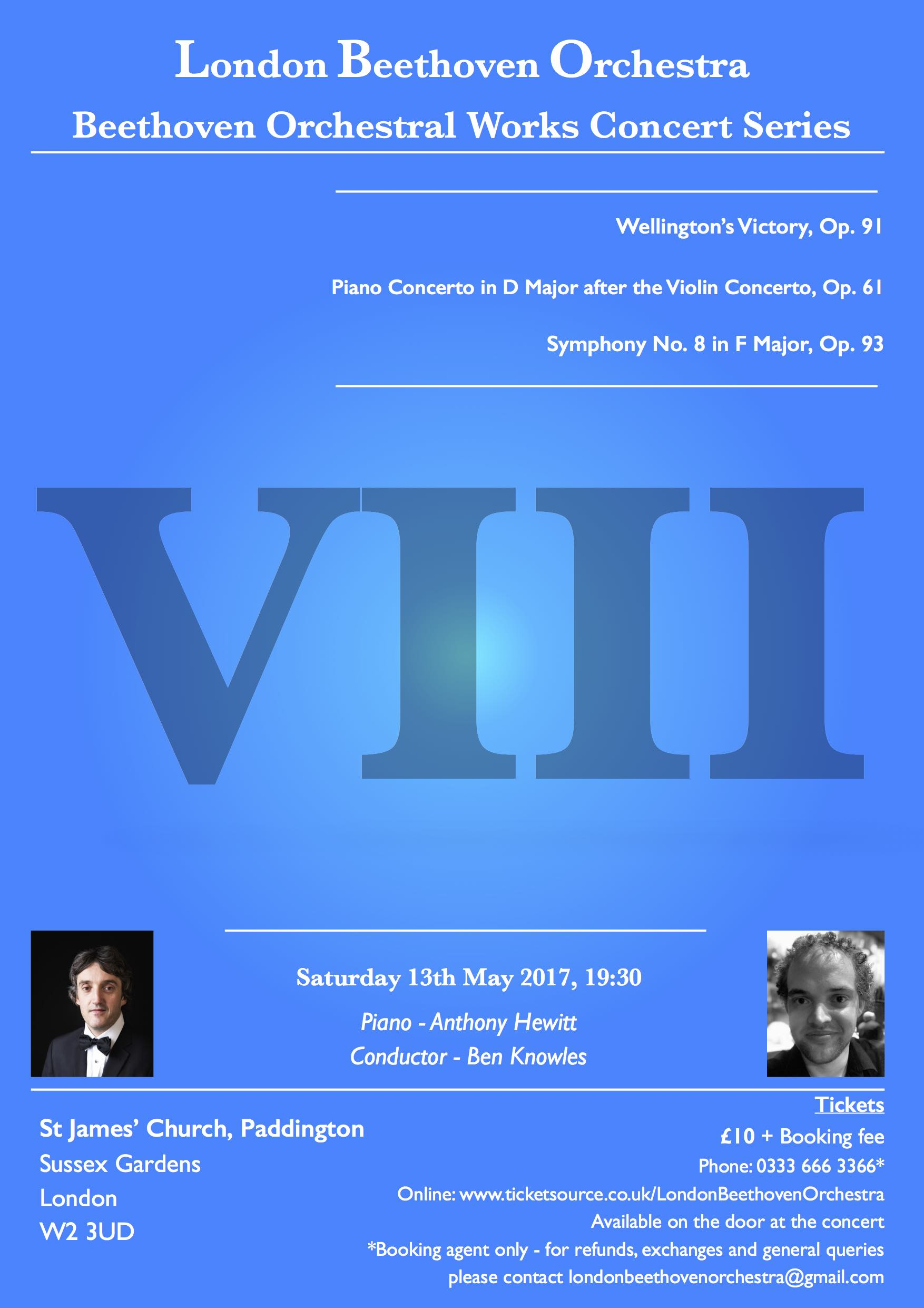 LBO Concert 8 - Wellington's Victory, Piano Concerto after the