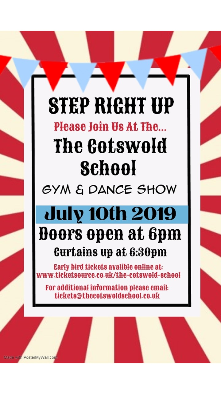 Step Right Up - Gym and Dance Show banner image