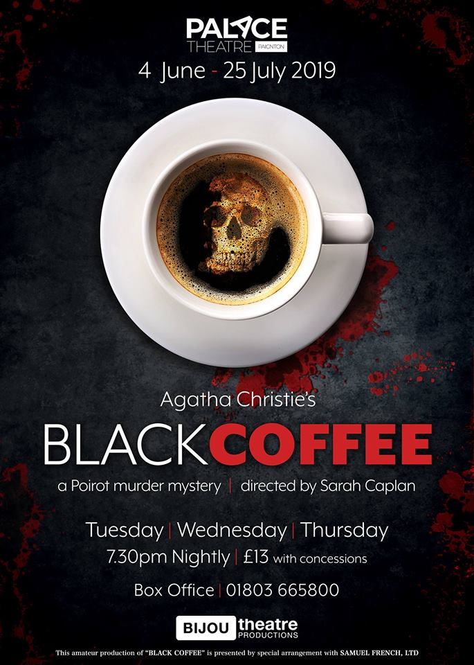 Agatha Christie's Black Coffee banner image