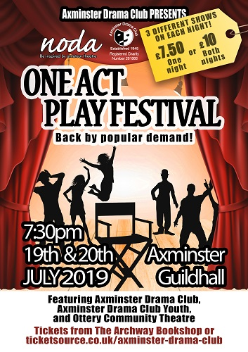 One Act Play Festival banner image