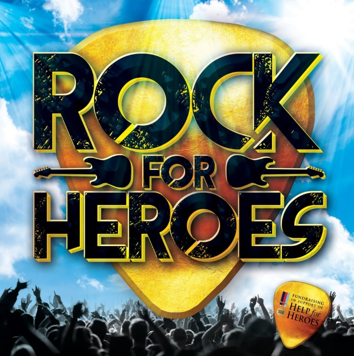Rock For Heroes banner image