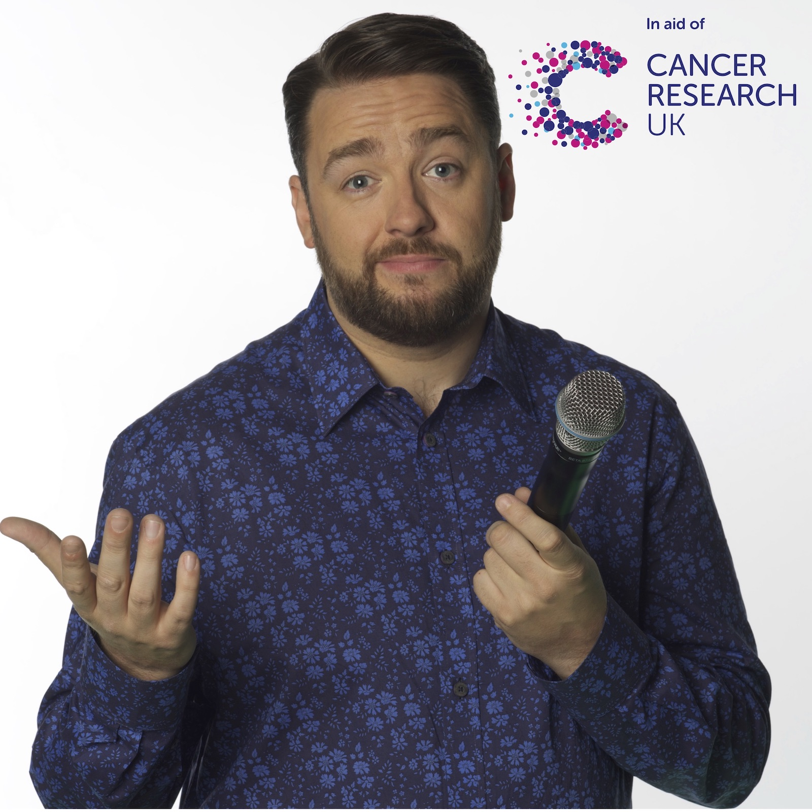 The Cancer Research UK Comedy Night with Jason Manford and support banner image