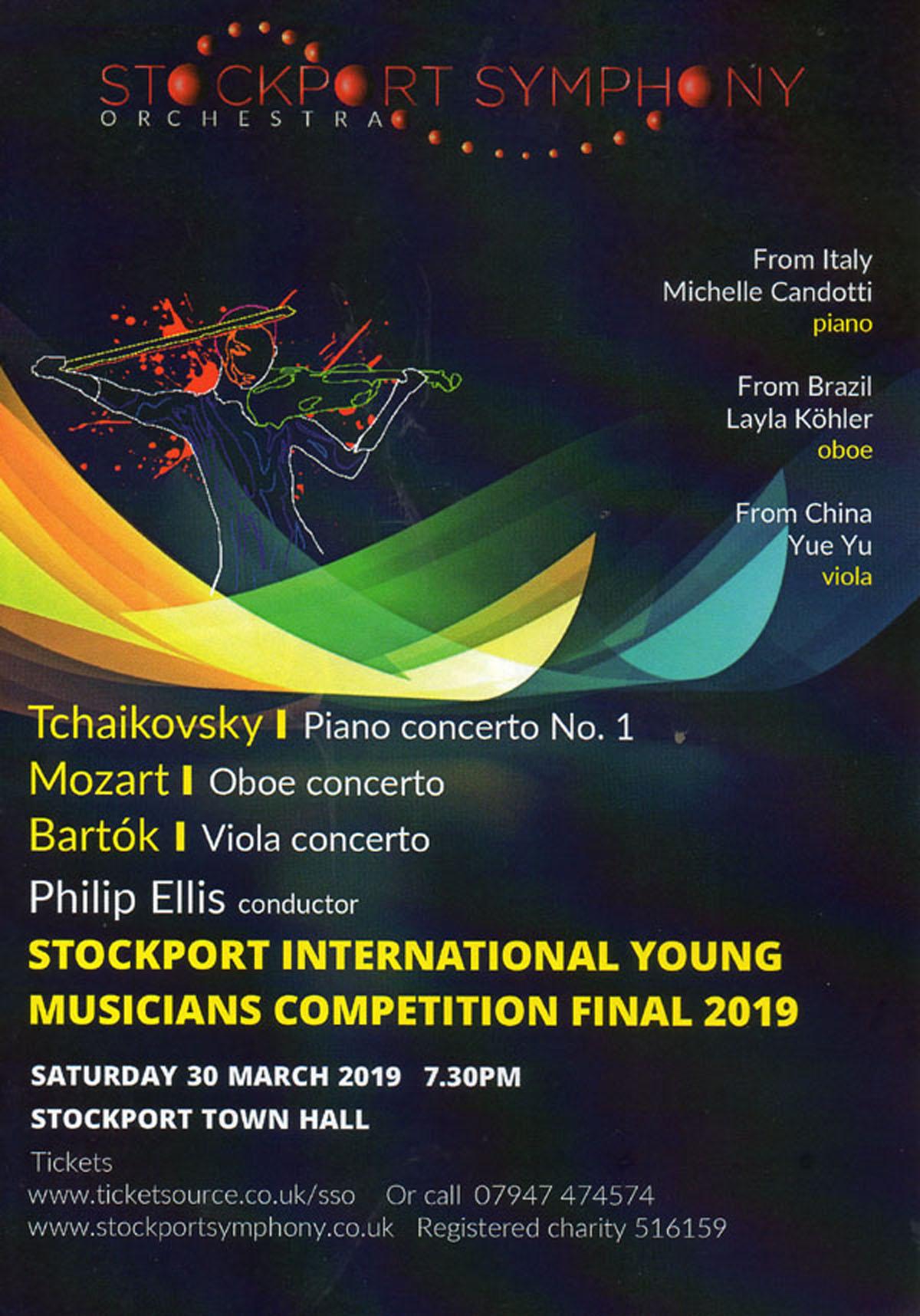 Stockport Symphony Orchestra - Stockport International Young