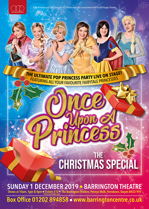 Once Upon A Time At Christmas 2019.Once Upon A Princess The Christmas Special At The