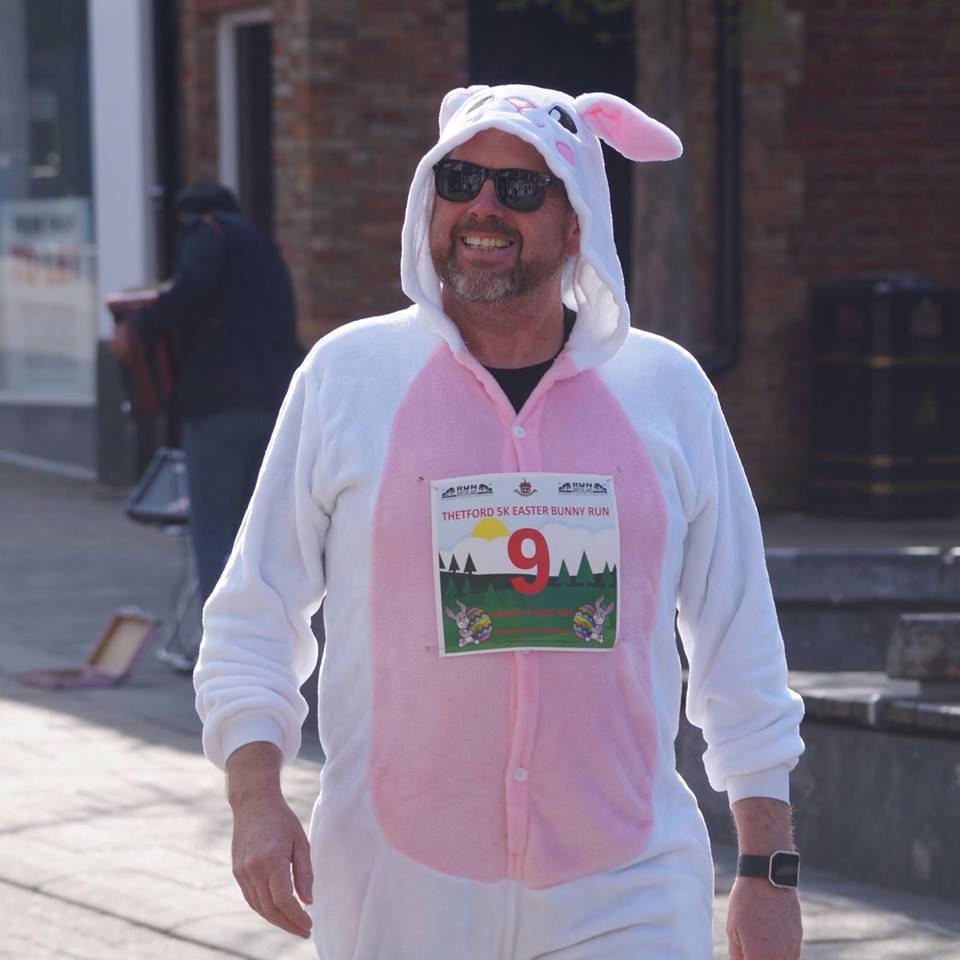 Thetford 5K Easter Bunny Run banner image