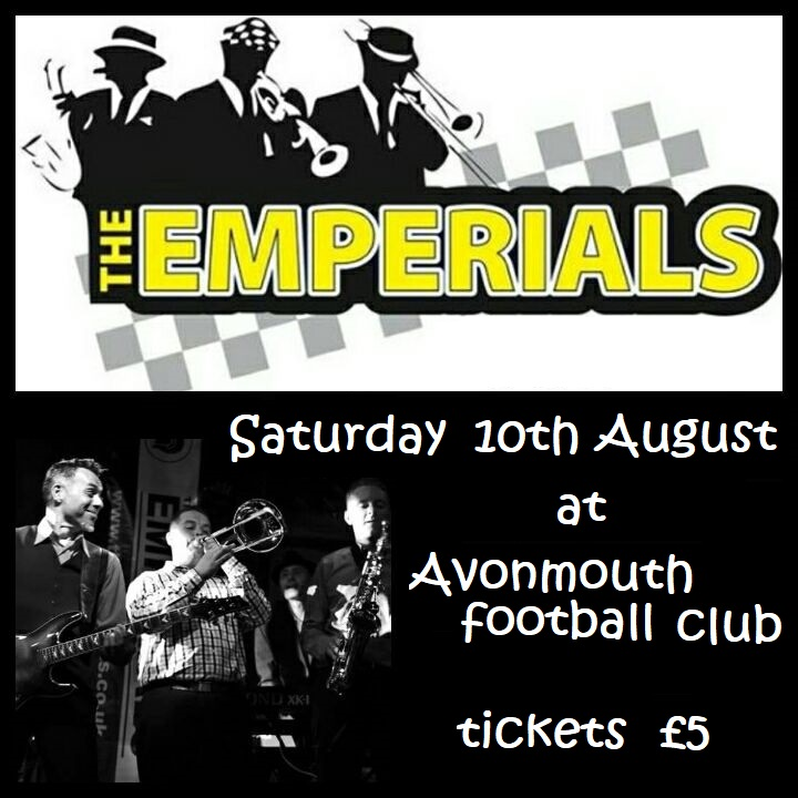 The Emperials @ Avonmouth FC banner image