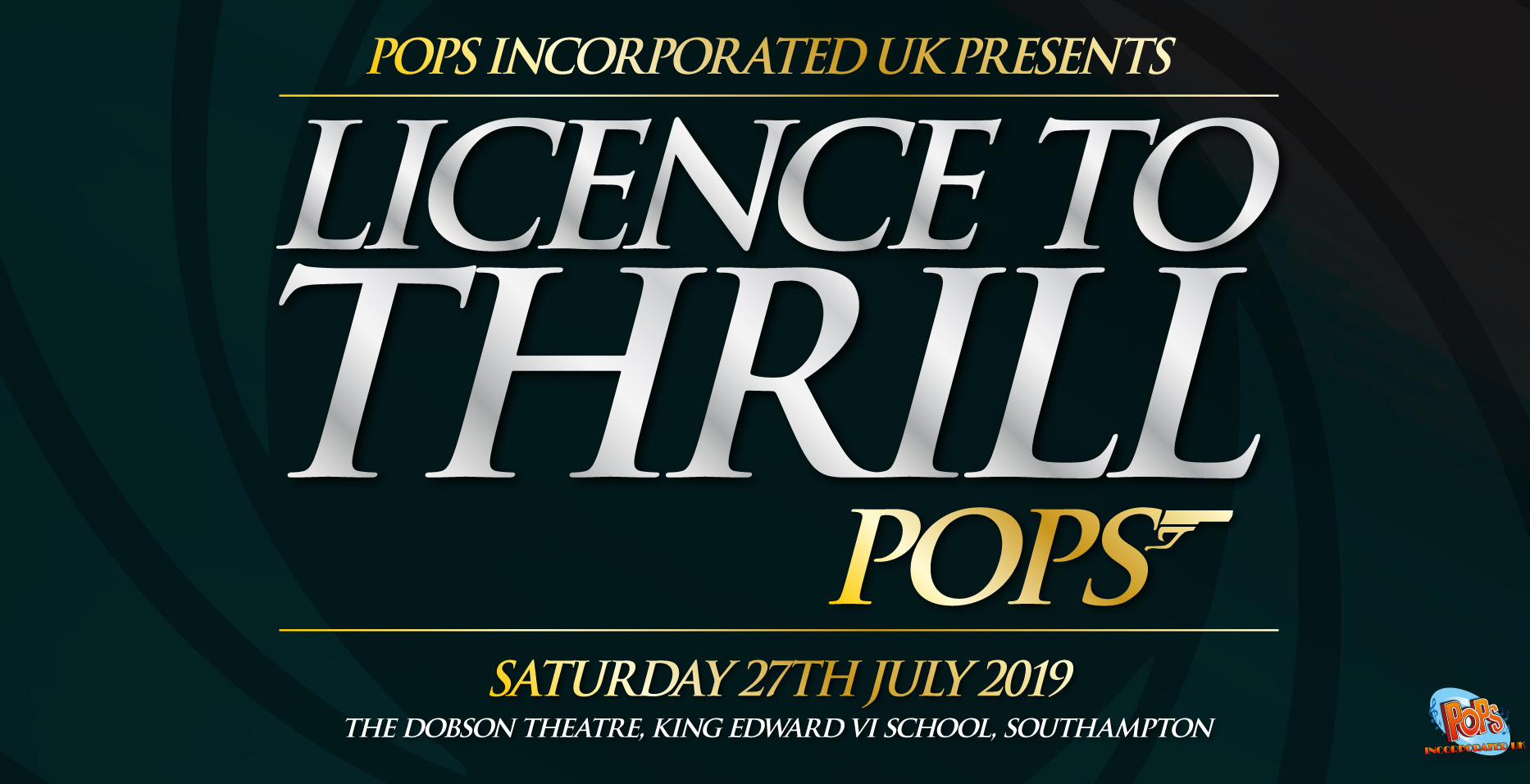POPs Orchestra - Licence to Thrill 007 banner image