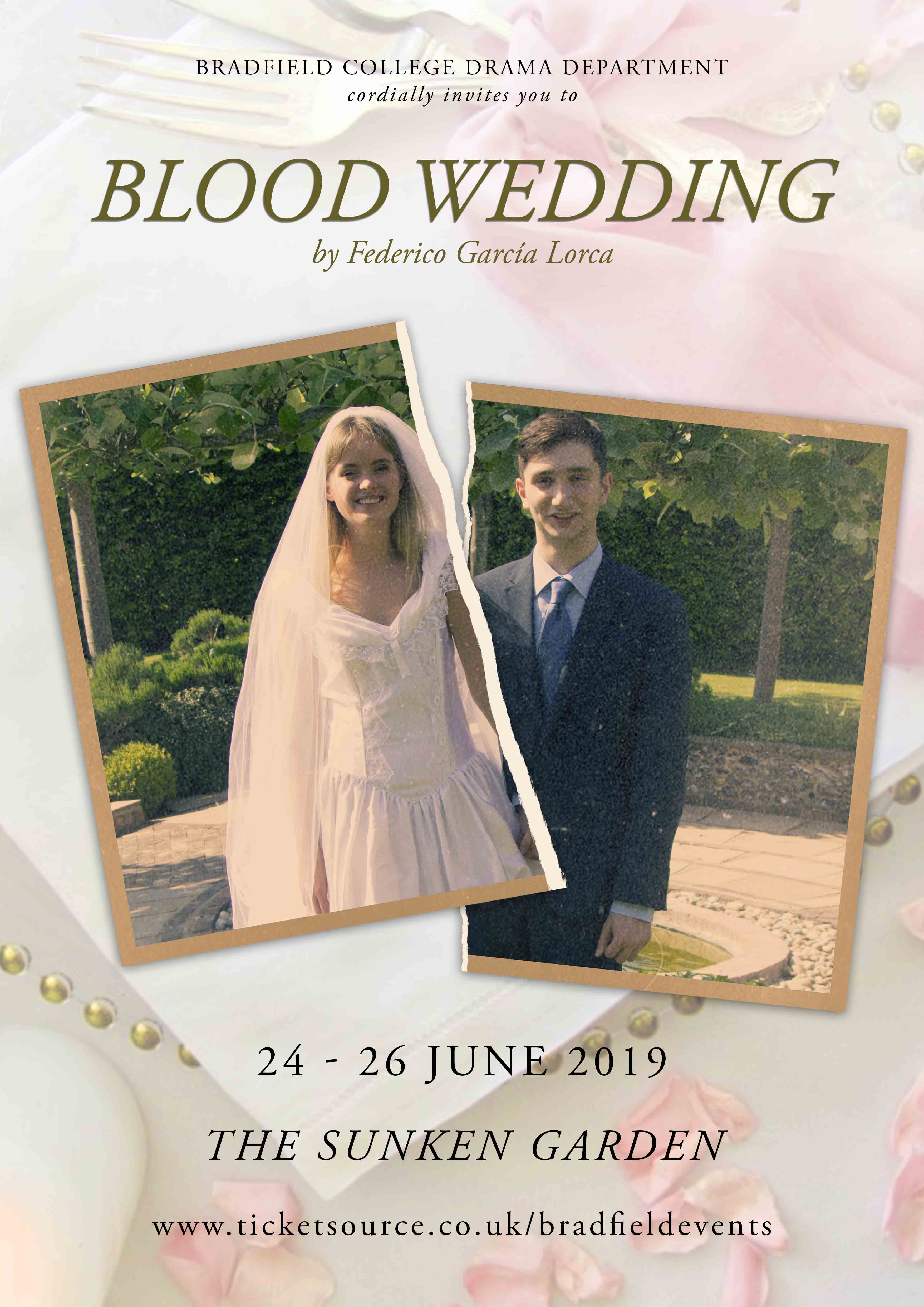 Blood Wedding by Lorca banner image