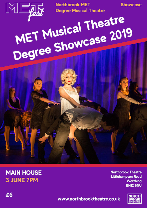 MET Musical Theatre Degree Showcase 2019 banner image