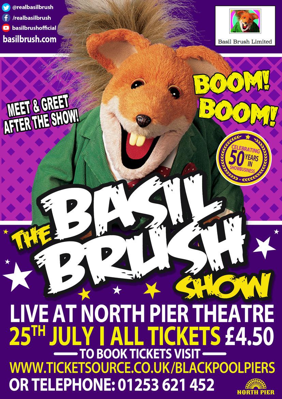 The Basil Brush Show banner image