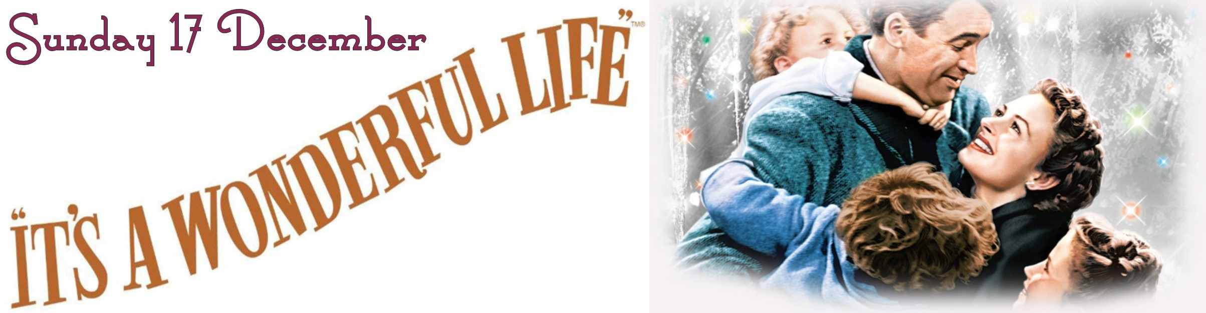 It\'s A Wonderful Life film (U) - Sunday 17 December @ 3pm at Dunlop ...