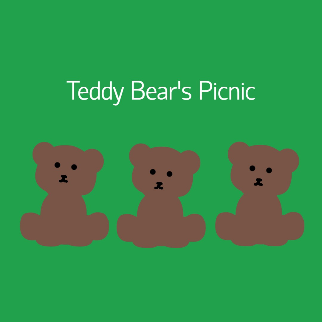 Tiny Talk Time: A Teddy Bear's Picnic banner image
